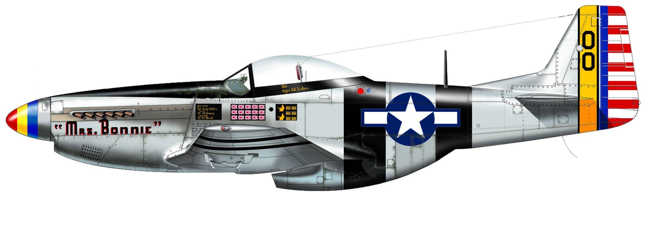 P-51 Pacific Aces de Italeri 03