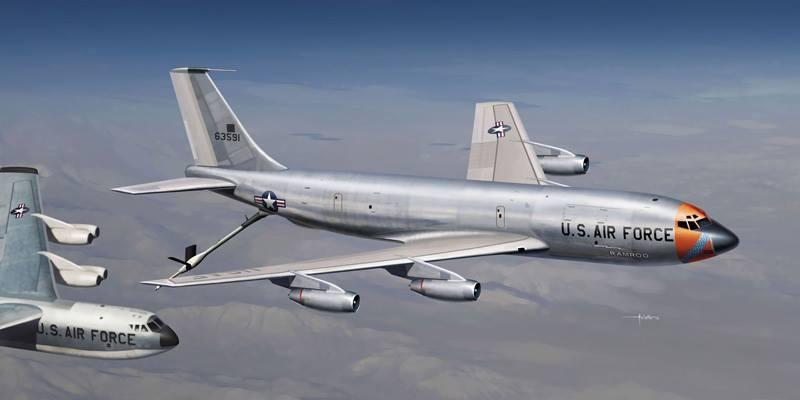 Maqueta KC-135A Stratotanker de Italeri