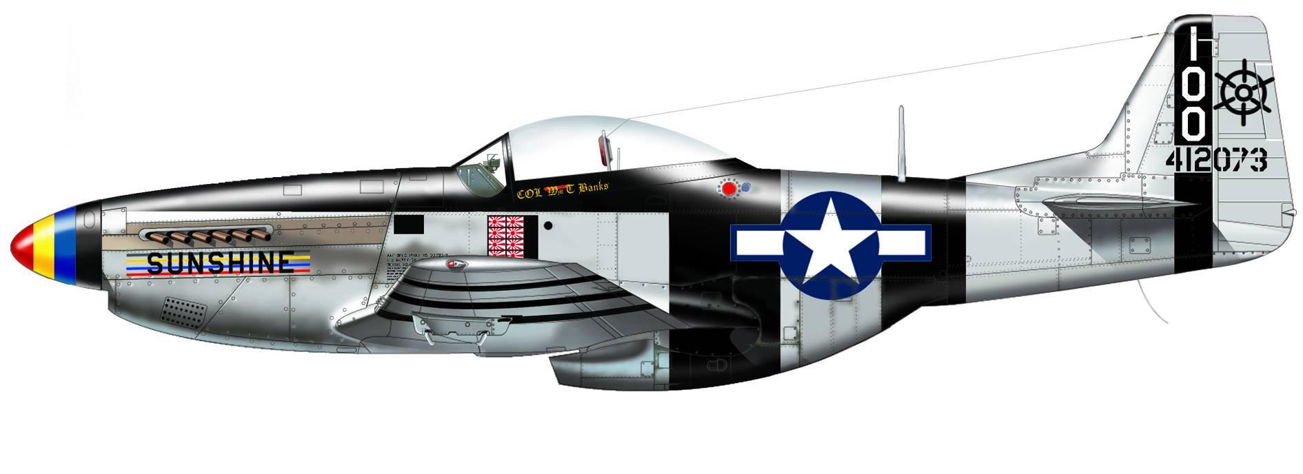 Maqueta P-51 Italeri Pacific Aces 06