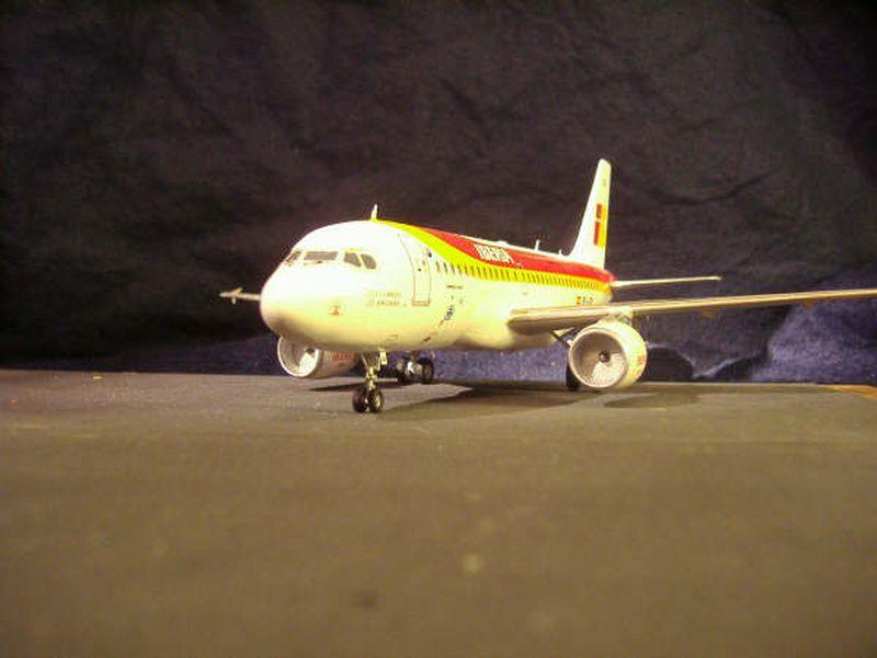 Maqueta Airbus A-319 02