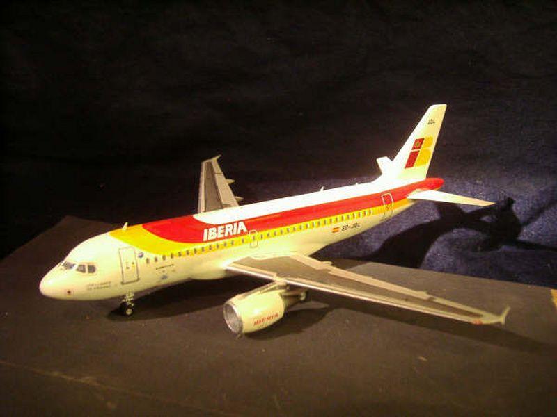 Maqueta Airbus A-319 03
