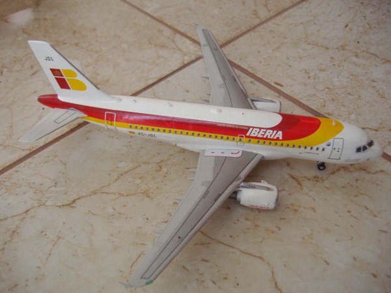 Maqueta Airbus A-319 08