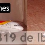 Maqueta Airbus A-319 Iberia (Revell 1/144)