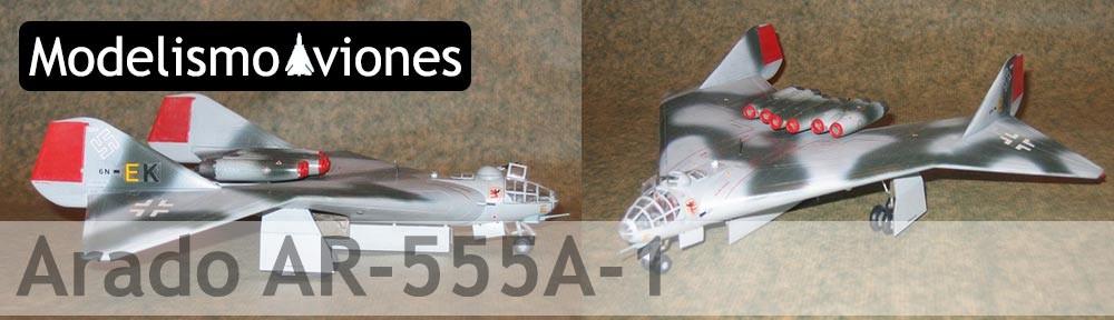 Maqueta Arado AR-555A-1 de Revell