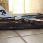 Maqueta DC-9 Aviaco de Airfix 1