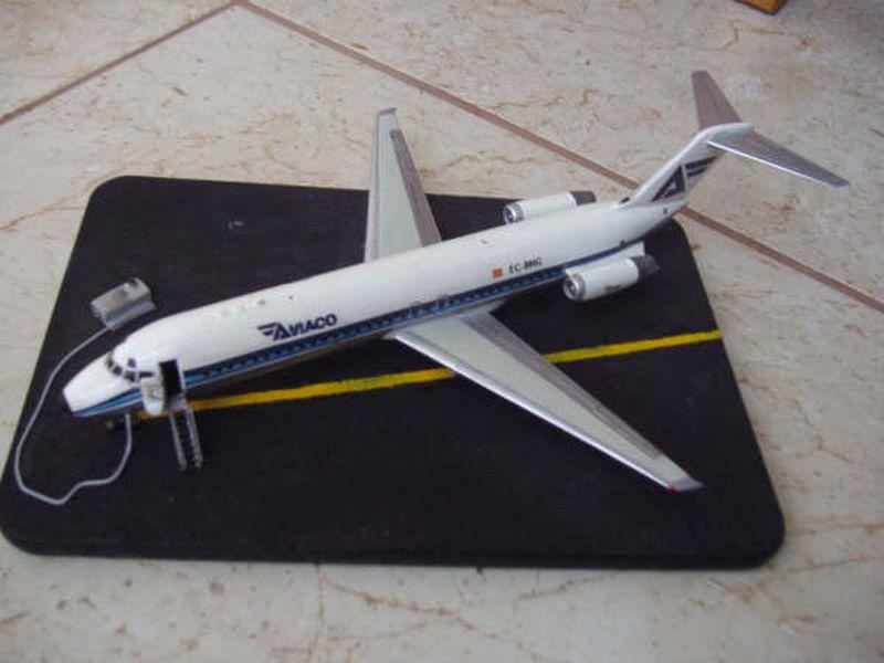 Maqueta DC-9 Aviaco de Airfix 5