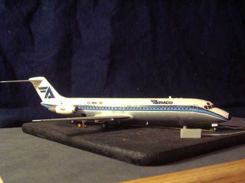 Maqueta DC-9 Aviaco de Airfix 6