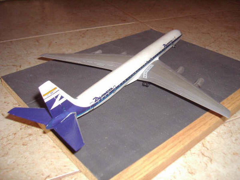 Maqueta Douglas DC-8 02