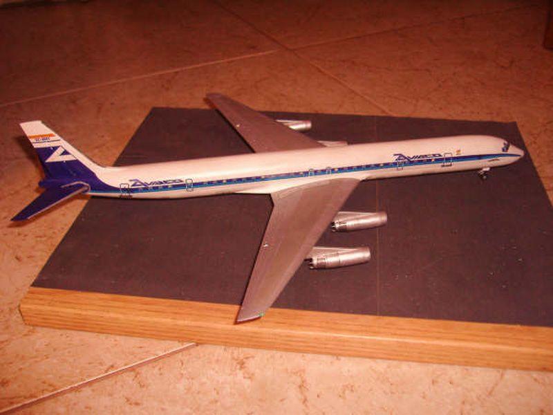 Maqueta Douglas DC-8 03