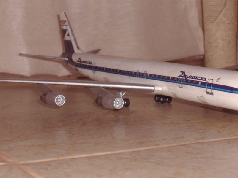 Maqueta Douglas DC-8 07