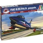 Maqueta Fiat G.91 PAN de Italeri