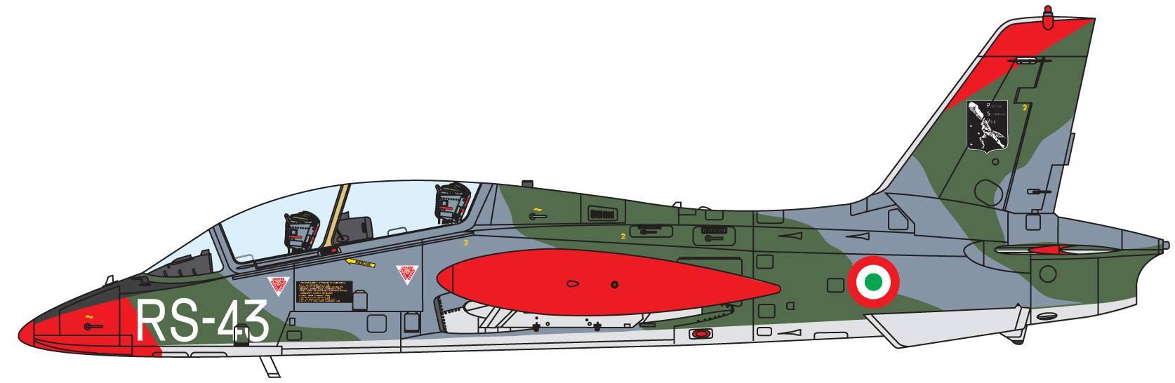 Maqueta Italeri MB-339 4