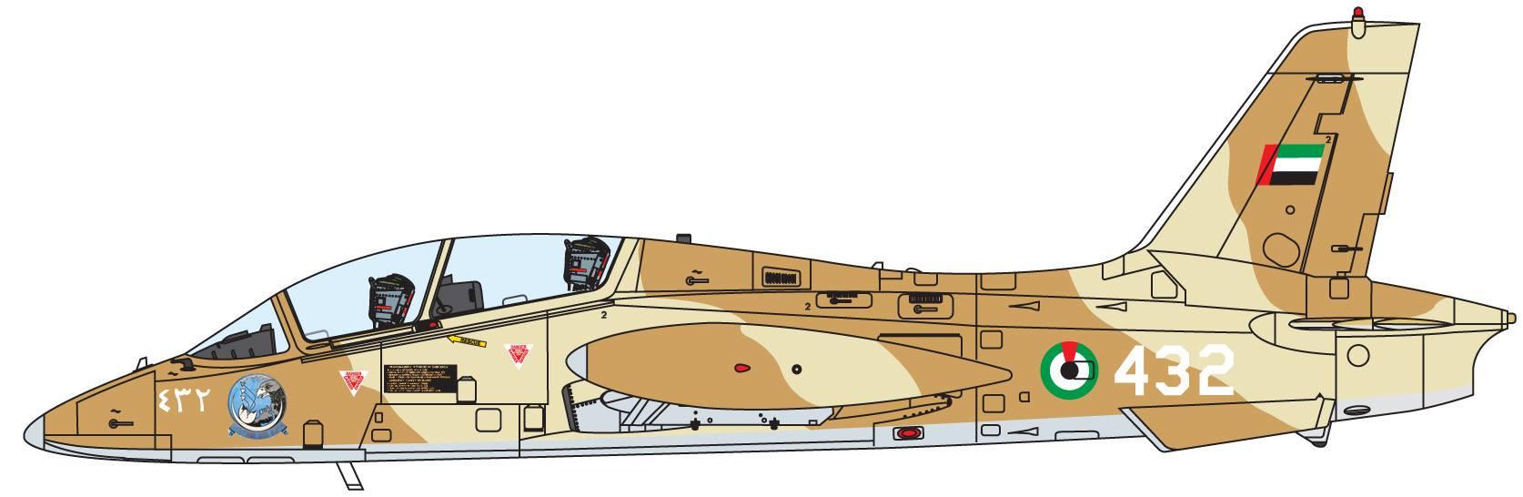 Maqueta Italeri MB-339 5