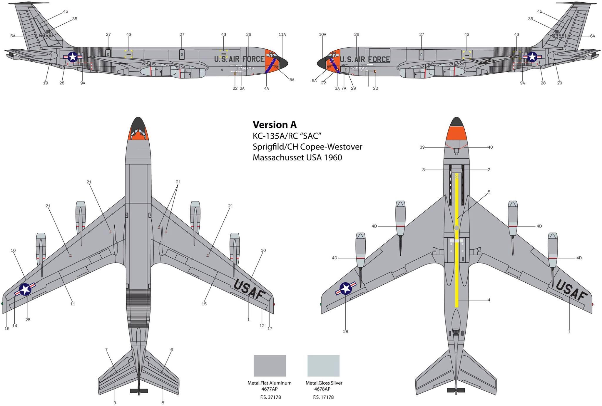 Maqueta Stratotanker Italeri 01