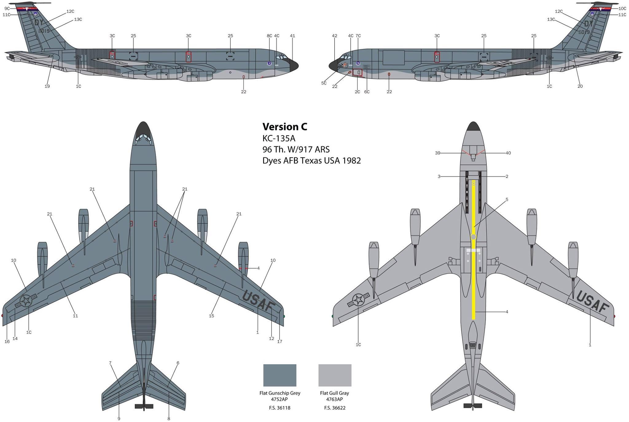 Maqueta Stratotanker Italeri 03