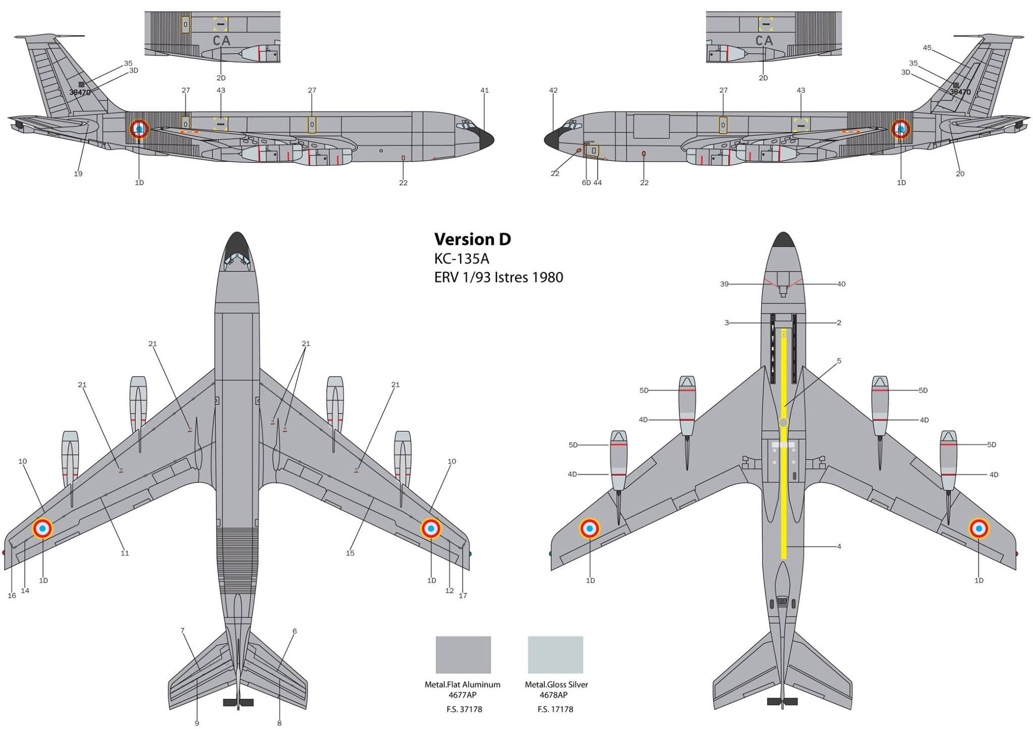 Maqueta Stratotanker de Italeri 04