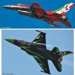 Doble maqueta de F-16 ADF de Hasegawa a 1/72