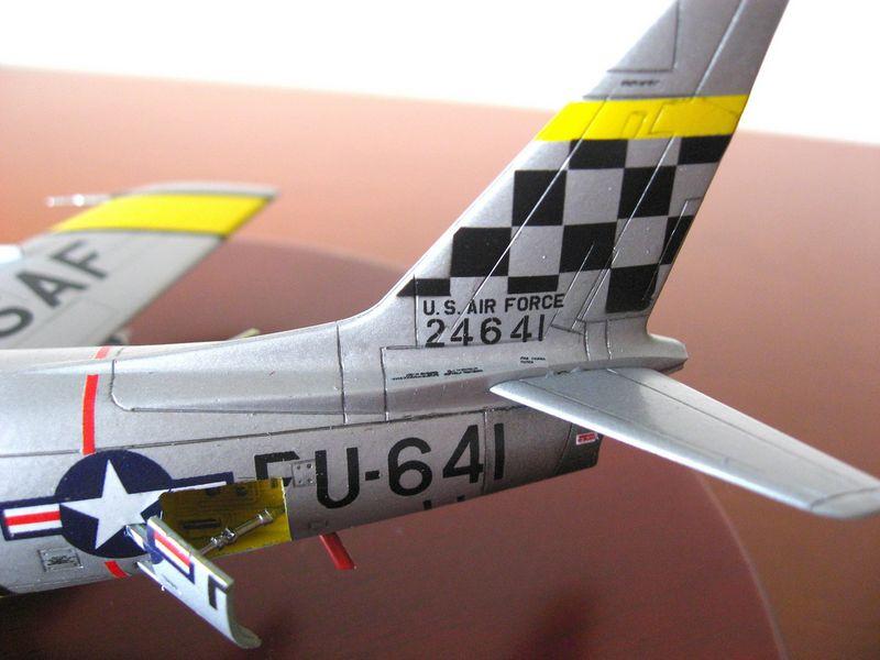 Maqueta F-86 Sabre 01