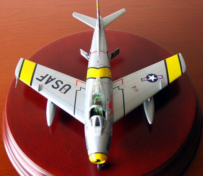 Maqueta F-86 Sabre 02