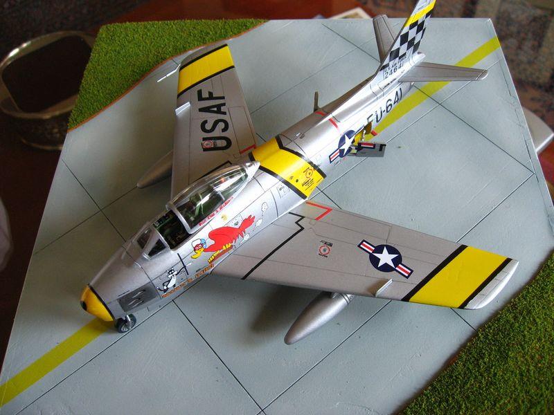Maqueta F-86 Sabre 04