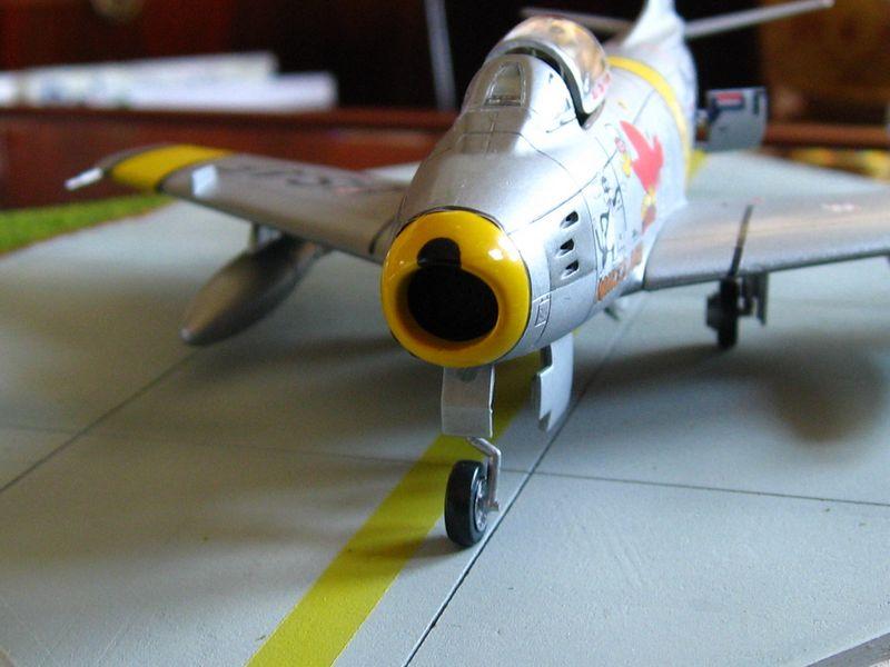 Maqueta F-86 Sabre 05