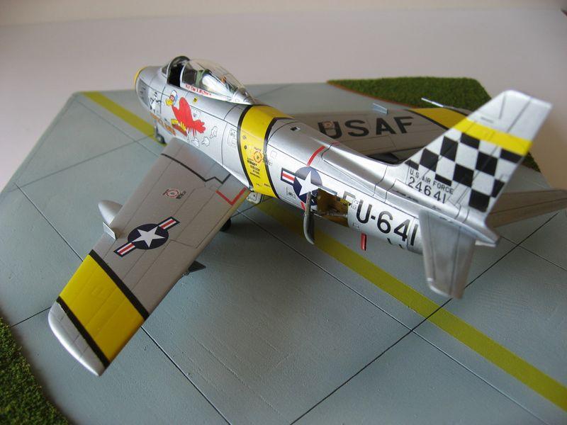Maqueta F-86 Sabre 06