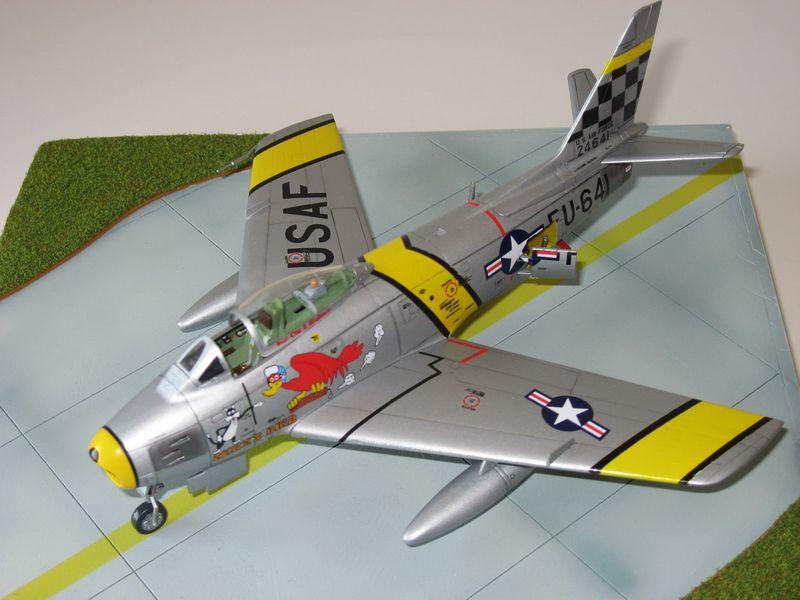 Maqueta F-86 Sabre 07