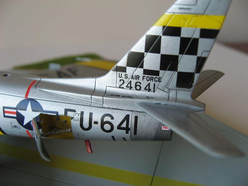 Maqueta F-86 Sabre 08