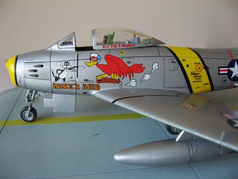 Maqueta F-86 Sabre 10