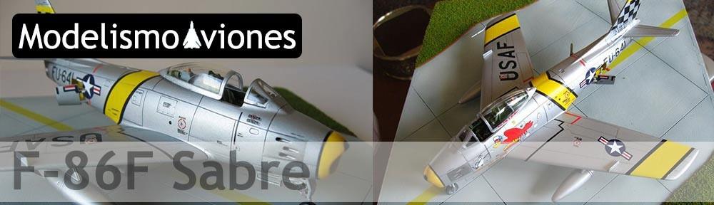 Maqueta F-86 Sabre