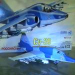Maqueta Su-39 de Zvezda