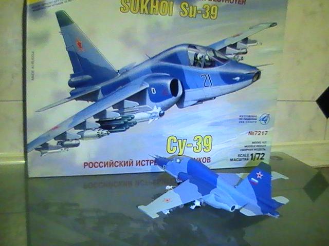 Maqueta Su-39 Frogfoot de Zvezda