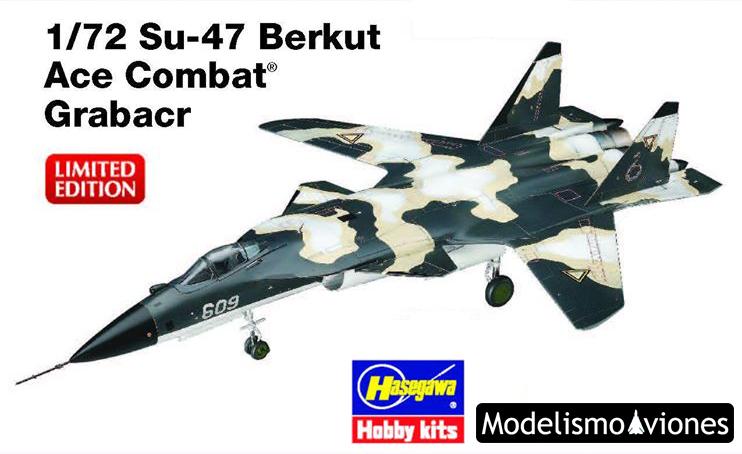 Maqueta Su-47 Berkut Ace Combat de Hasegawa