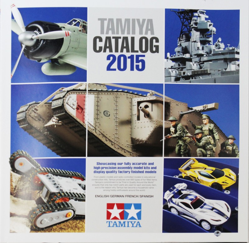 Catálogo Tamiya 2015