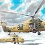 Nueva maqueta, helicóptero Wessex HAS 1 de Italeri [Actualizada]