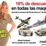 Descuento del 10% en todas las maquetas de MadeInScale