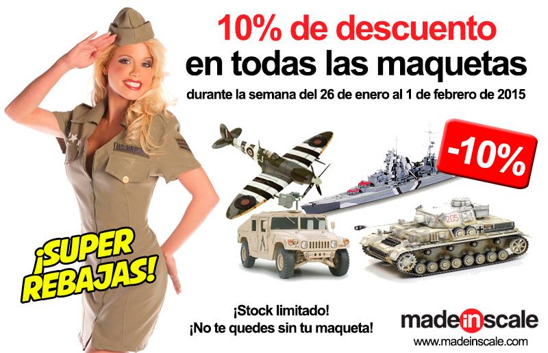 Comprar maquetas rebajadas en MadeInScale