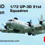 Nueva maqueta P-3 Orion de Hasegawa a escala 1/72