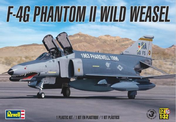 Maqueta F-4G Wild Weasel de Revell a escala 1/32
