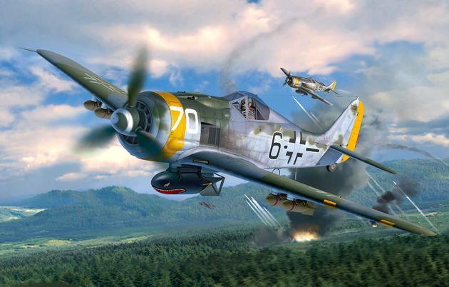 Fw190 de Revell