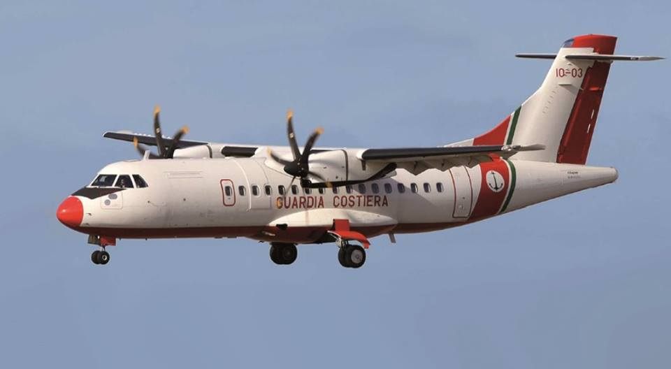 Maqueta ATR 42 de Italeri