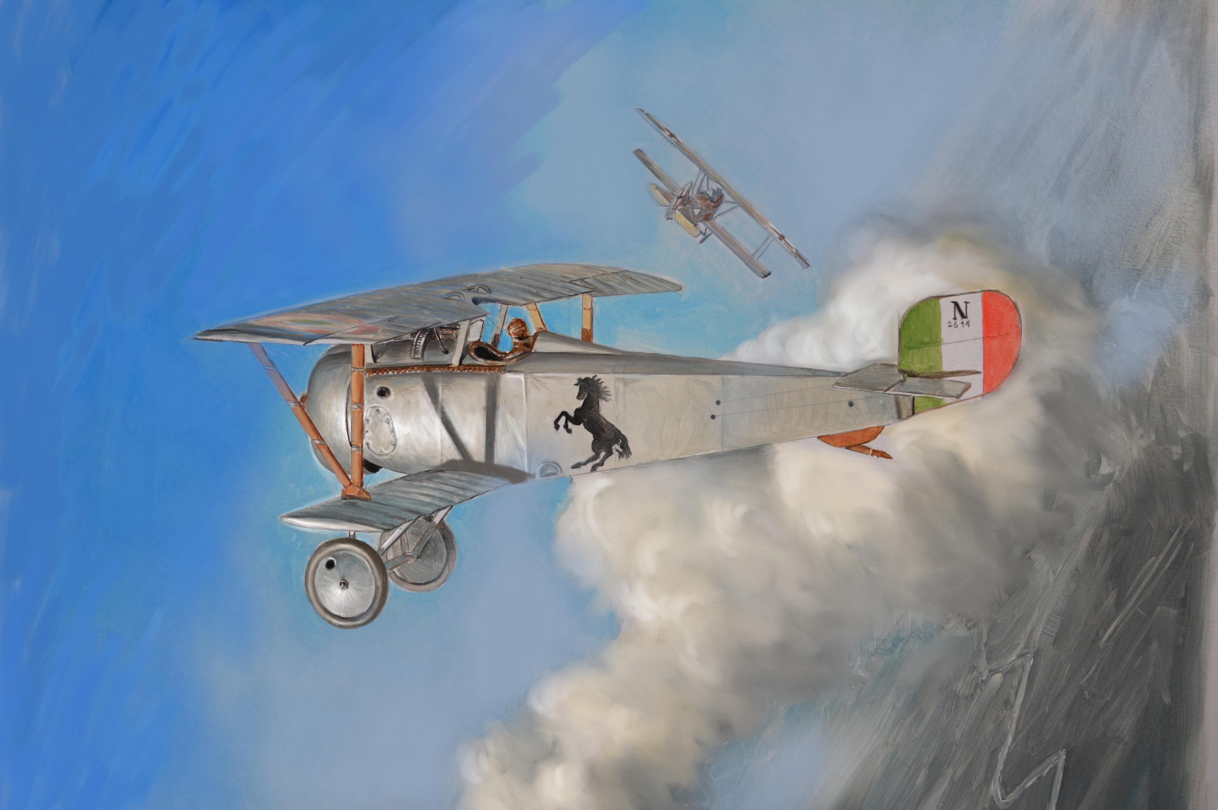 Maqueta Nieuport 17 de Italeri