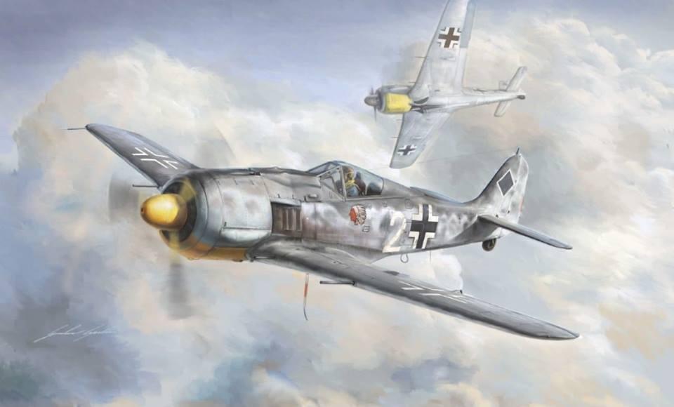 Fw-190 A-8 de Italeri