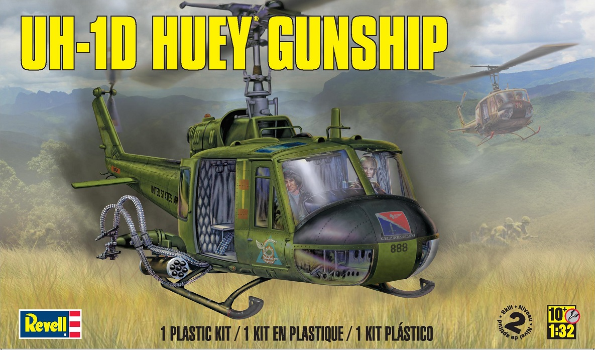 Maqueta Helicóptero Huey Revell