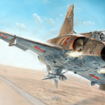 Un vistazo al nuevo Mirage III C de Italeri a 1/32
