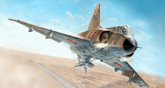 Maqueta Mirage III