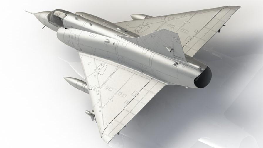 Maqueta Mirage III C
