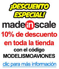 Descuento en tienda de modelismo on-line MadeInScale