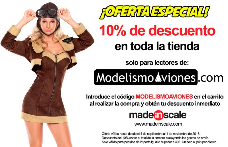 Descuento tienda de modelismo on-line MadeInScale