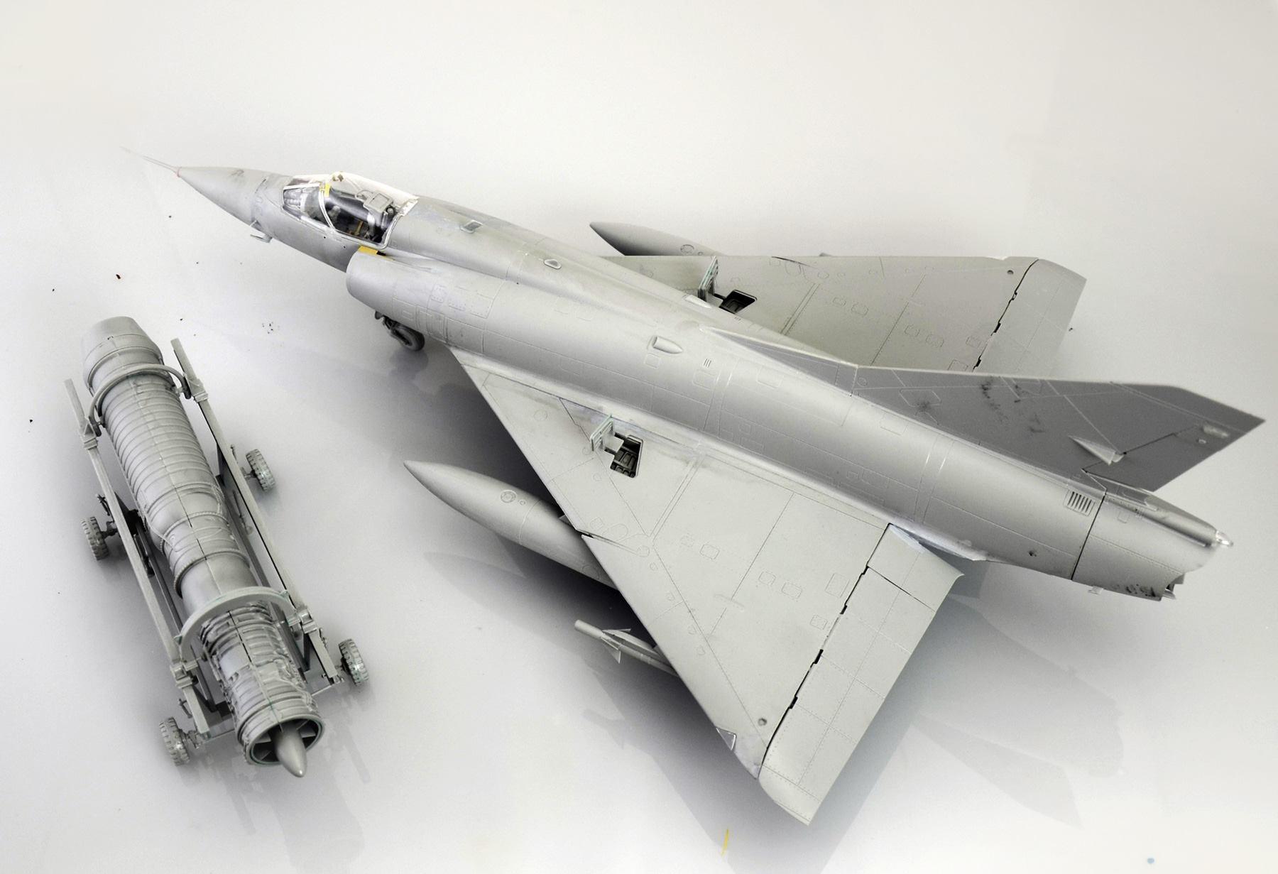 Maqueta Mirage III 1